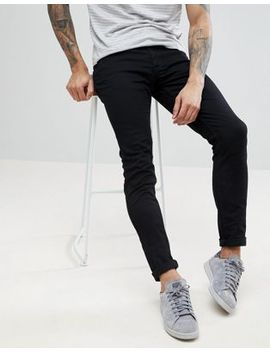 Farah   Drake   Slim Fit Jeans In Zwart by Asos