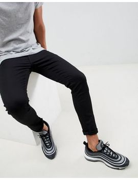 River Island   Skinny Jeans In Zwart by Asos