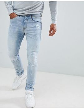 Blend Slim Fit Jeans In Light Wash by Asos