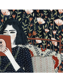 Reading (Print) by Etsy