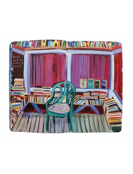 """Fine Art Print Of Painting From Artist Travel Journal – """"The Littlest Library"""" by Etsy"""