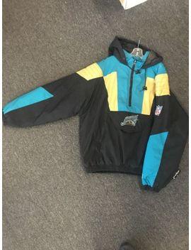 Vintage Jacksonville Jaguars Starter Jacket Pullover Poncho Size Xl by Starter