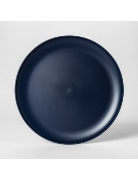 "10.5"" Plastic Dinner Plate Blue   Room Essentials™ by Shop This Collection"