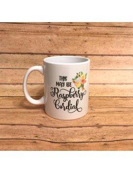 Anne Of Green Gables Raspberry Cordial Coffee Mug by Etsy