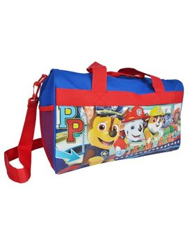 "Paw Patrol Teamwork Marshall Chase Kids Boys Duffel Bag 17"" by Paw Patrol"