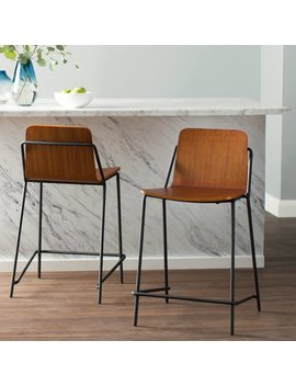 "George Oliver Jake 24"" Bar Stool & Reviews by George Oliver"