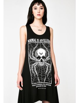 Illusion Laced Up Vest by Killstar