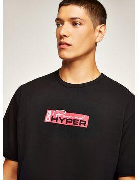 Black 'hyper' T Shirt by Topman