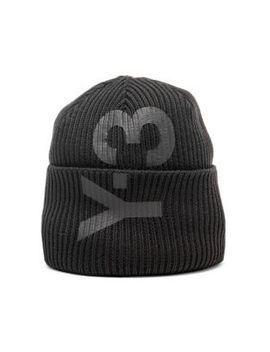 Ribbed Knit Beanie by Y 3