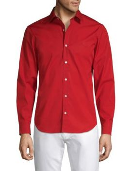Stretch Poplin Shirt by Burberry