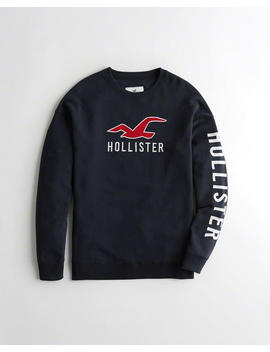 Oversized Crewneck Hoodie by Hollister
