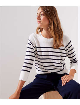 Striped Dolman Sweater by Loft