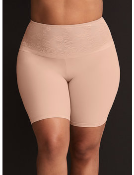 Nude Microfiber High Rise Smoother Short by Torrid