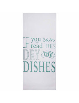 Metro Farmhouse By Park B Smith 2 Pc. Dry The Dishes Kitchen Towel by Park B Smith