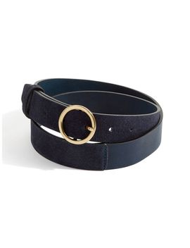 Bonni Suede Circle Jeans Belt by Jigsaw