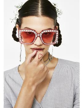 Bubblegum Feelin Flossy Sunglasses by Fame Accessories