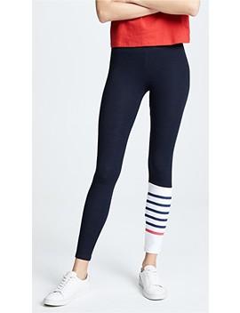 Stripes Yoga Pants by Sundry