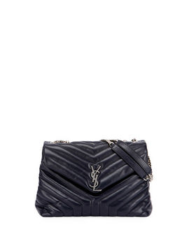 Loulou Monogram Ysl Medium Chain Shoulder Bag by Neiman Marcus