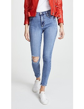 The Cult High Rise Ankle Skinny Jeans by Nobody Denim
