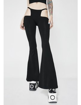 Groove Krush Cut Out Pants by Club Exx