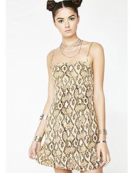 Snakebite Slip Dress by Emory Park