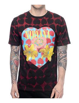 Nirvana Heart Shaped Box T Shirt by Live Nation