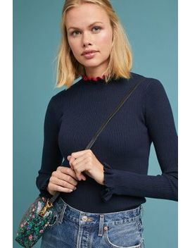 Celina Ruffled Pullover by Scotch & Soda