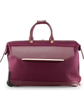 Large Front Pocket Rolling Duffel Bag by Ted Baker London