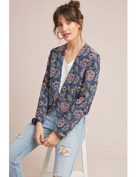 Majorelle Embroidered Jacket by Seen Worn Kept