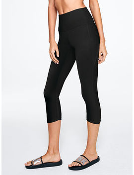 Ultimate High Waist Crop Curved Hem Legging by Victoria's Secret