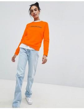 Calvin Klein Jeans Sweatshirt With Logo by Calvin Klein