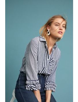 Freya Striped Buttondown by Eri + Ali