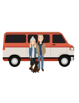 Custom Illustration Portrait, Art For Family Couples, Only Digital, Portrait Of A Car, Portrait Pet, Portrait On A Scooter, Digital Download by Etsy