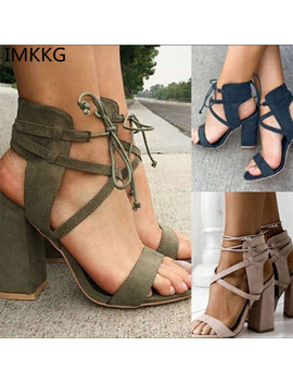 Women Sandals Summer Sexy High Heels Sandals Women Shoes 10cm Heels Sandals Gladiator 34 43 Opean Toe Women Summer Shoes M139 by Imkkg