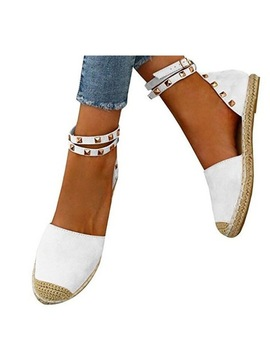 Xda 2018 Fashion Summer Flats Sandals Shoes Women Sandals Leather Casual Gladiator Wedges Rivets Leggings Women Shoes W592 by Xda