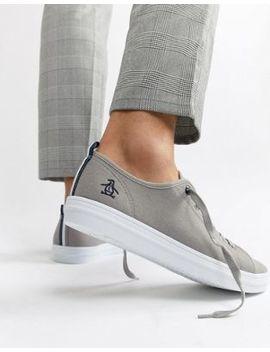 Original Penguin Faze Sneakers In Gray by Original Penguin