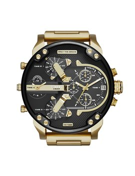 Diesel Watches Mr Daddy 2.0 Stainless Steel Watch by Diesel