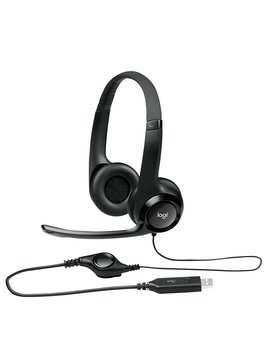 Logitech Usb Headset H390 With Noise Cancelling Mic by Logitech