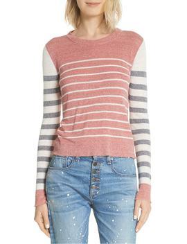 Brae Linen Blend Sweater by Veronica Beard