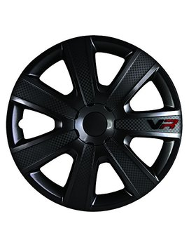 Alpena 58260 Vr Carbon Wheel Cover Kit   Black   16 Inch   Pack Of 4 by Alpena