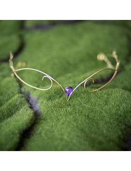 Elven Circlet Elf Crown Silver Gold Tiara With Leaves by Etsy