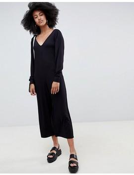 Asos Design Oversized V Neck Jumpsuit by Asos Design