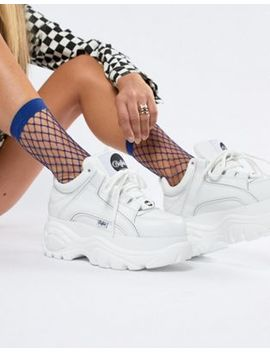 Buffalo   Classic  Lage Platformsneakers In Wit by Asos