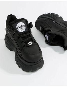 Buffalo   Klassieke Lage Sneakers Met Plateauzool In Zwart by Asos