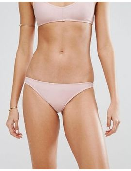 Motel Pale Pink Bikini Bottom by Motel