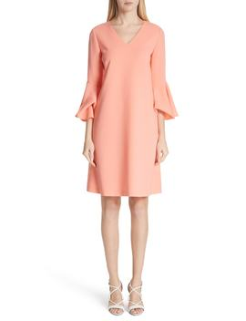 Holly Bell Sleeve Dress by Lafayette 148 New York