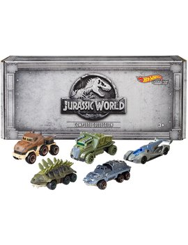Hot Wheels Jurassic World Character Cars, 5 Pack by Hot Wheels