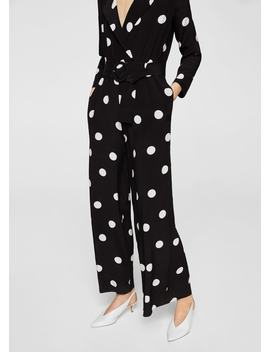 "<Font Style=""Vertical Align: Inherit;""><Font Style=""Vertical Align: Inherit;"">Long Jumpsuit With Dots</Font></Font> by Mango"