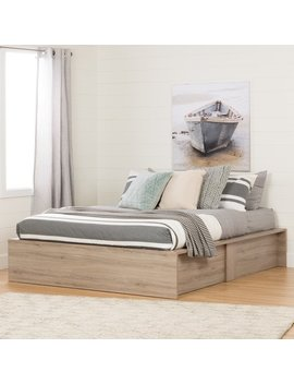 South Shore Fusion Queen Platform Bed by South Shore