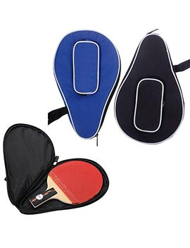 Ownsig Waterproof Nylon Table Tennis Racket Bag Ping Pong Paddle Bat Storage Case Box Zipper #01 by Ownsig